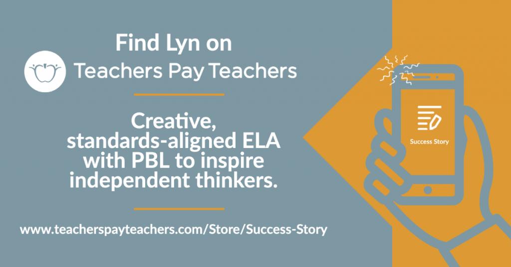 Find Lyn on Teachers Pay Teachers at www.teacherspayteachers.com/Store/Success-Story
